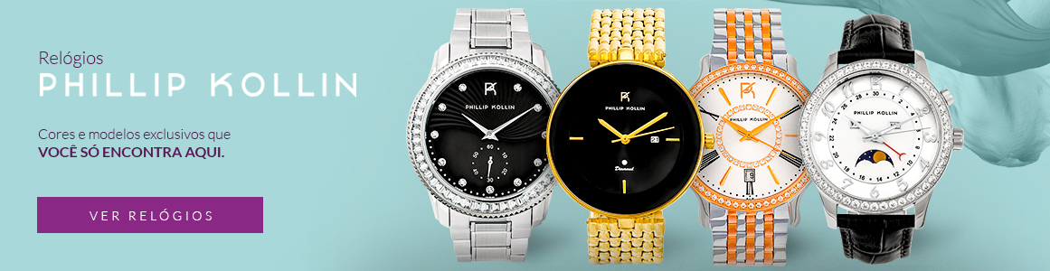 Relógios Phillip Kollin