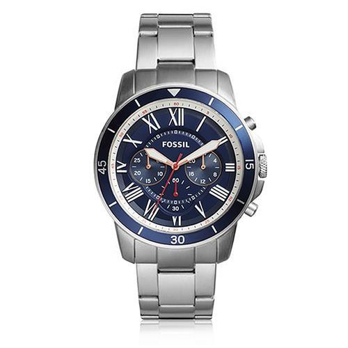 Relógio Masculino Fossil Analógico FS5238/1AN Fundo Azul