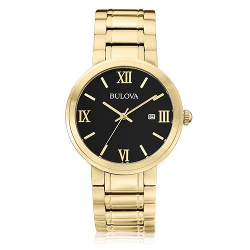 Relógio Masculino Bulova Analógico WB26146U Fundo Preto