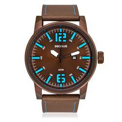 Relógio Masculino Seculus Analógico 90006GPSVMC2 Marrom