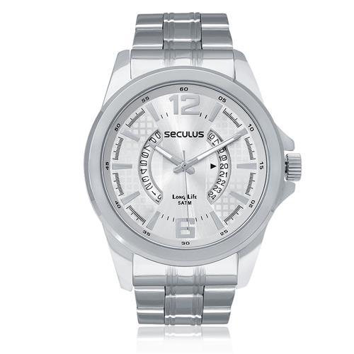 Relógio Masculino Seculus Analógico 28663G0SVNA1 Aço