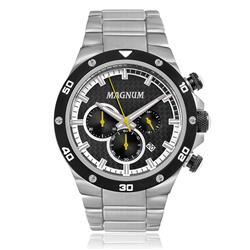 Relógio Masculino Magnum Analógico MA34281Y Fibra de Carbono