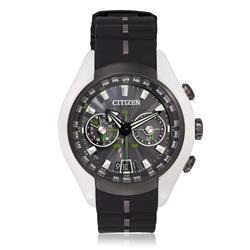 Relógio Masculino Citizen Satellite Wave Air Analógico TZ30571D Borracha Preta