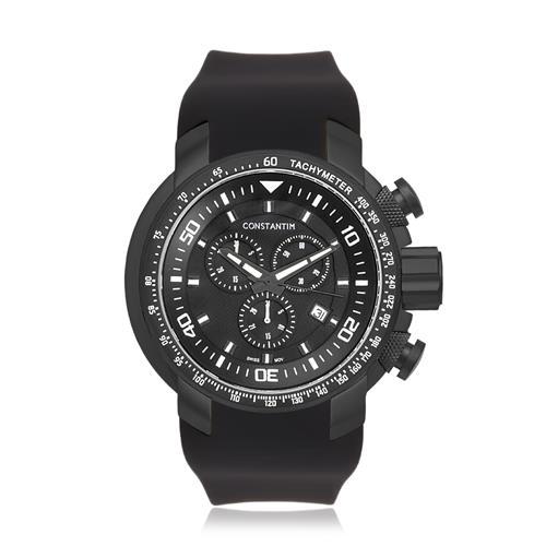 Relógio Masculino Constantim Navigator Rising Black Analógico 6058G-AB Preto