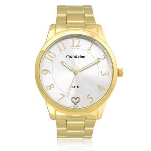 Relógio Feminino Mondaine Analógico 76538LPMKDE1 Dourado