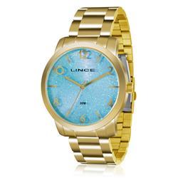 Relógio Feminino Lince Analógico LRG4366L A2KX Dourado
