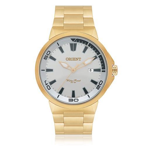 Relógio Masculino Orient Analógico MGSS1104A S1KX Dourado