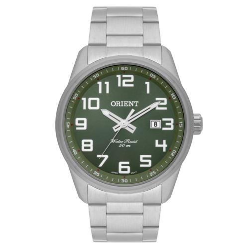 Relógio Masculino Orient Analógico MBSS1271 E2SX Fundo Verde