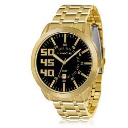 Relógio Masculino Lince Analógico MRG4332S P2KX Aço Dourado