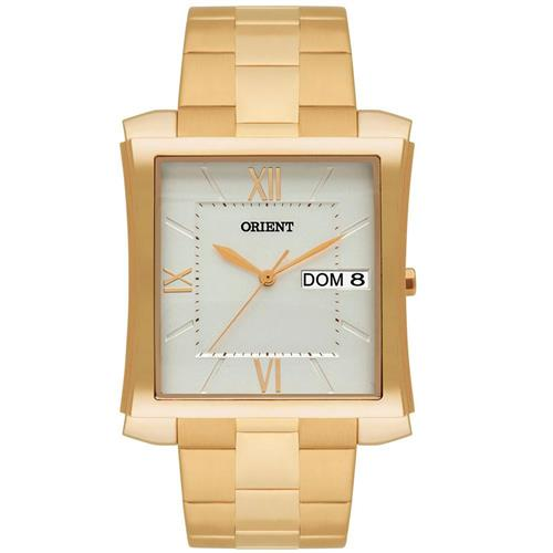 Relógio Masculino Orient Analógico GGSS2001 S3KX Aço Dourado