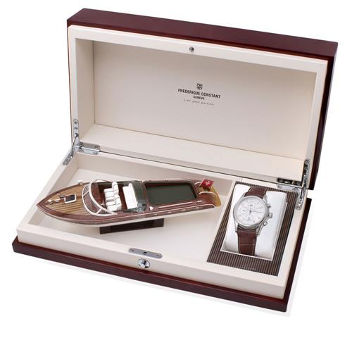 Relógio Masculino Frederique Constant Runabout - Limited Edition WF20591Z Couro