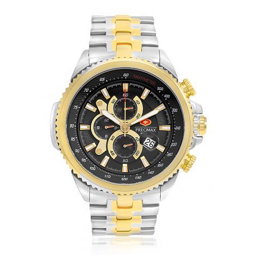 Relógio Masculino Swiss Precimax Analógico PX14029 Aço Misto