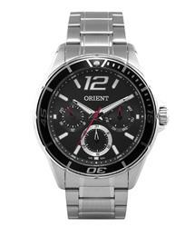 Relógio Masculino Orient Analógico MBSSM035 P2SX Aço com Catraca Preta