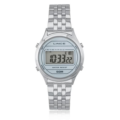 Relógio Feminino Lince Digital SDPH023L BXSX Aço