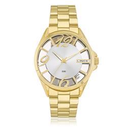 Relógio Feminino Lince Analógico LRG604L S2KX Dourado