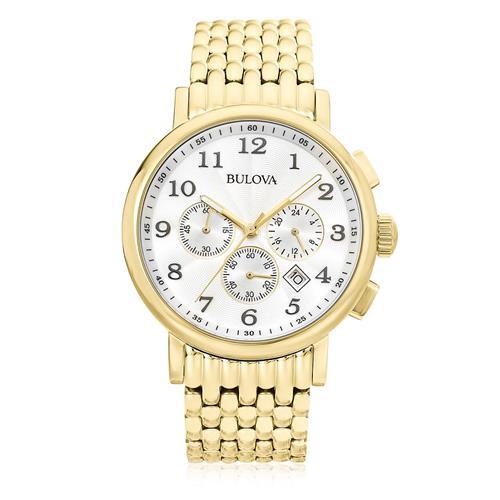 Relógio Masculino Bulova Analógico WB21221H Dourado