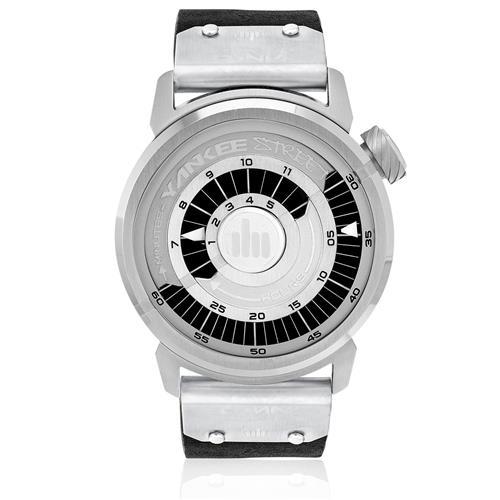 Relógio Yankee Street Black Angels Analógico YS30274T Couro Preto