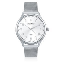 Relógio Feminino Mondaine Analógico 76607L0MKNE1 Pulseira Esteira