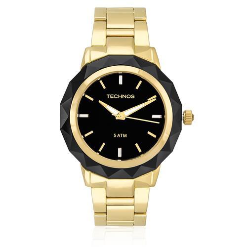 Relógio Feminino Technos Elegance Crystal Analógico 2035MCM/4P Dourado