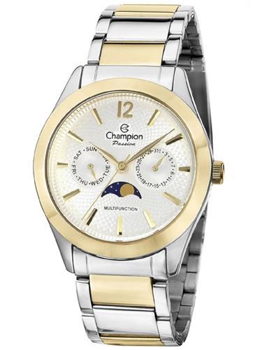 Relógio Feminino Champion Passion Analógico CH38271S Aço Misto