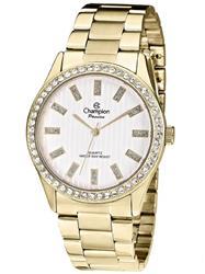 Relógio Feminino Champion Passion Analógico CH24615H Aço Dourado com Cristais