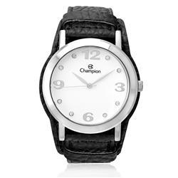 Relógio Feminino Champion Analógico CN20202Q Couro Preto 42962