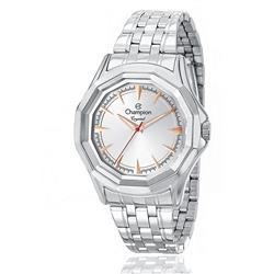 Relógio Feminino Champion Crystal Analógico CN27394Q Aço com detalhes em rose