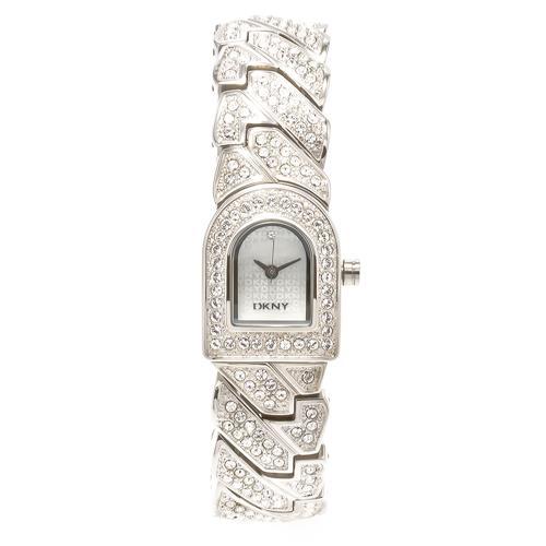 Relógio Feminino DKNY Analógico GNY4228/N Estilo Bracelete com cristais