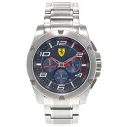 Relógio Masculino Scuderia Ferrari Analógico SF0020 Fundo Azul