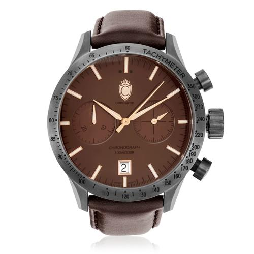 Relógio Constantim Chronograph All Brown ZW30081O Chocolate
