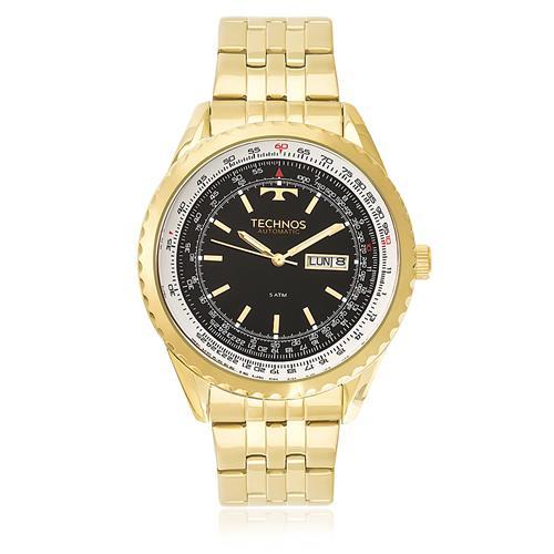 Relógio Masculino Technos Automatic 8205NN/4P Dourado