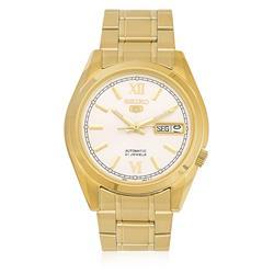 Relógio Masculino Seiko Automático SNKL58B1 B3KX Dourado