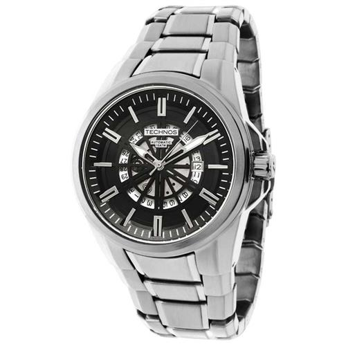 Relógio Masculino Technos Automatic TSAS37AA/1P Fundo Preto
