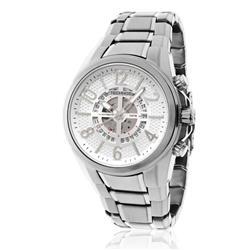 Relógio Masculino Technos Automatic TSVS75AA/4P Fundo Prateado