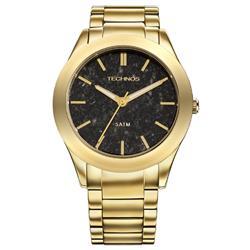 Relógio Technos Elegance Stone Collection Gabro 20033AF/4P Dourado