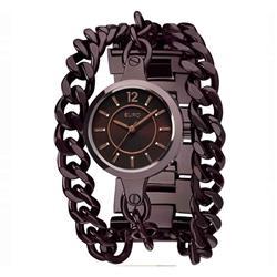 Relógio Feminino Euro Analógico EU2035US/4M Marrom