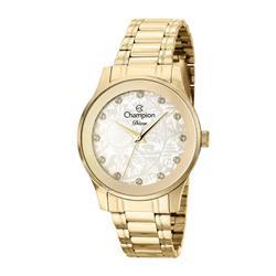 Relógio Feminino Champion Diva CN27410H Aço Dourado com Cristais 47164