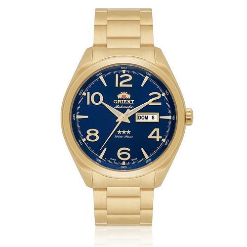 Relógio Masculino Orient Automatic 469GP062 D2KX Dourado