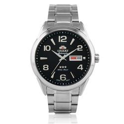 Relógio Masculino Orient Automatic 469SS052 G2SX Fundo Preto