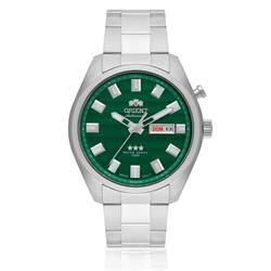Relógio Masculino Orient Automatic 469SS076 E1SX Fundo Verde
