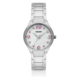 Relógio Feminino Orient Analógico FBSS0052 BRSX Cristais Rosas