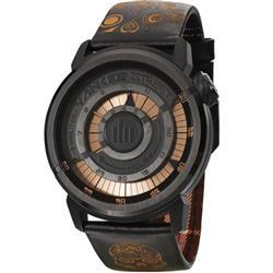 Relógio Masculino Yankee Street Black Angels YS30247P Couro