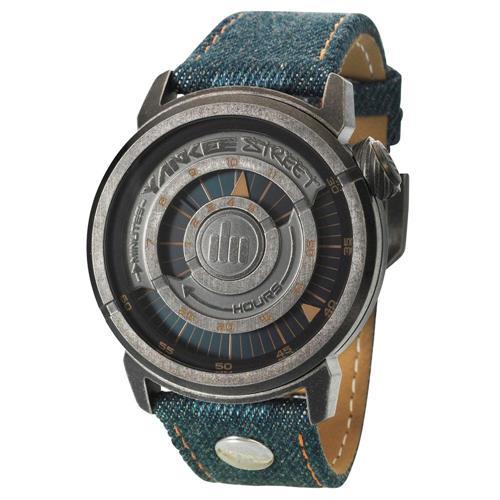 Relógio Masculino Yankee Street Urban YS30185A- Couro Jeans