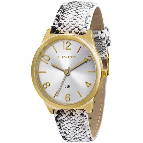 Relógio Feminino Lince Analógico LRC4301L K107S2GB Animal Print