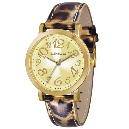 Relógio Feminino Lince Analógico LRC4303L K110C2TM Couro