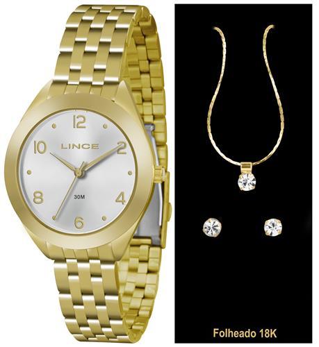 Relógio Feminino Lince Analógico LRG4327L K139S2KX Dourado