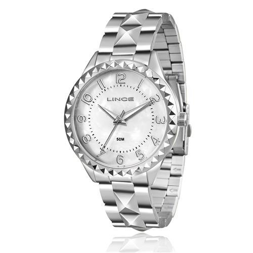Relógio Feminino Lince Analógico LRM4380L B2SX Aço