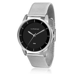 Relógio Feminino Lince Analógico LRM4405L P1SX Fundo Preto