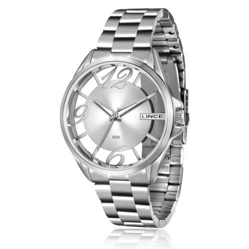 Relógio Feminino Lince Analógico LRM604L S2SX Aço