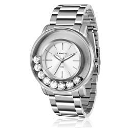 Relógio Feminino Lince Analógico LRM607L S1SX Aço com cristais